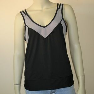 Lucy Strappy Athleisure Workout Tank Top Medium